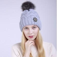 Women's winter hat Snowflake