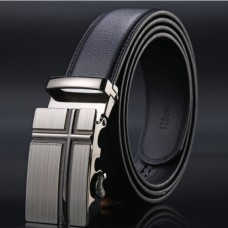 Brand men's genuine leather belt TACE & SHARK Model №2