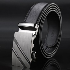 Brand men's genuine leather belt TACE & SHARK Model №3