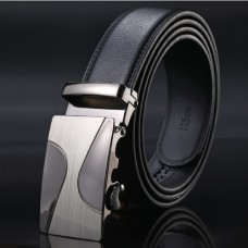 Brand men's genuine leather belt TACE & SHARK Model №5