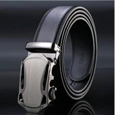 Brand men's genuine leather belt TACE & SHARK Model №6