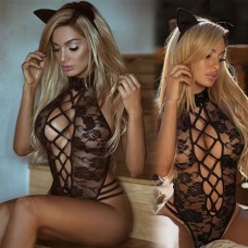 "Lingerie Lace Dress ""Naughty Bunny"""