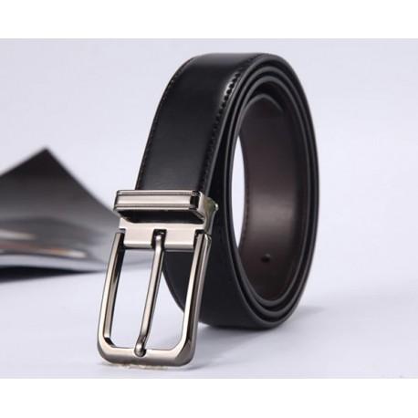 "Men's genuine leather belt ""Stylish Businessman"""