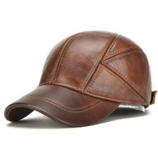 Genuine Leather Cap