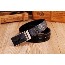 "Exotic men's business belt ""Crocodile"" №2"