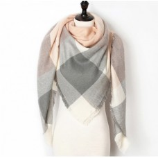 """Cashmere winter scarf """"Unconventional Woman"""" №1"""