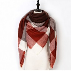 """Cashmere winter scarf """"Unconventional Woman"""" №2"""