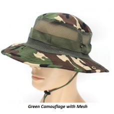 Mesh Camouflage Hat