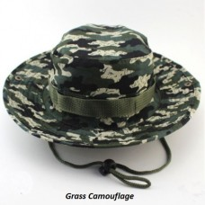 "Camping Camouflage Hat ""Camo"""