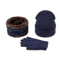 Winter Set Hat Scarf Gloves Model №2