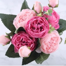 Peony Artificial Flower Bouquet