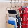 Multifunctional 5-layer convenience pants hanger