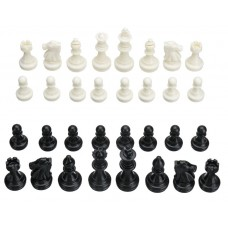 Plastic Chess Figures