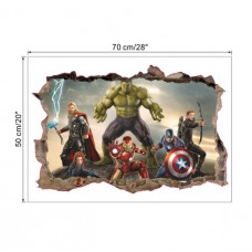 "3D Wall Sticker ""THE AVENGERS"""