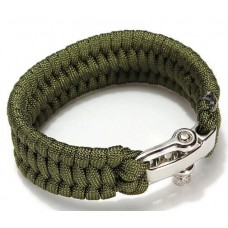 Survival bracelet triple hedge