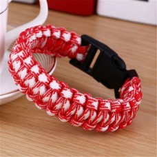 Survival bracelet double hedge