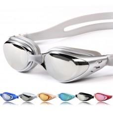 Diving Anti-UV Anti-fog Swimsuit Goggles + Nose clip