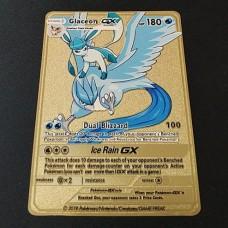 Rare golden metal pokemon cards
