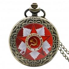 Antique pocket watch ОТЕЧЕСТВЕНАЯ ВОЙНА