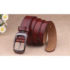 Women's genuine leather belts