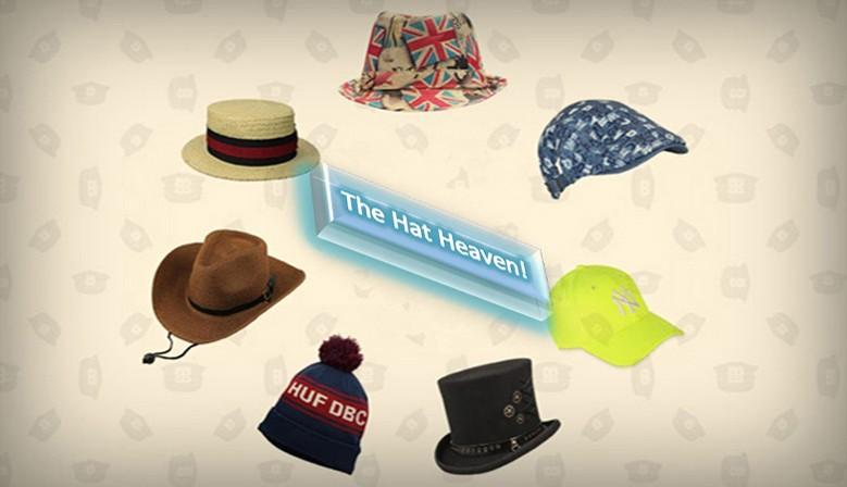 The hat heaven!